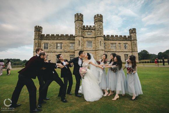 英国城堡婚礼纪实摄影 Leeds Castle