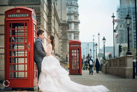 Ricky&Faye 伦敦婚纱