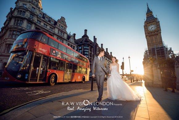 Roy&Mia 伦敦婚纱照