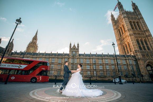 斯科特&雪莹 伦敦婚纱