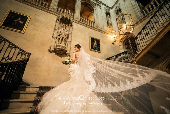 英国城堡婚纱照