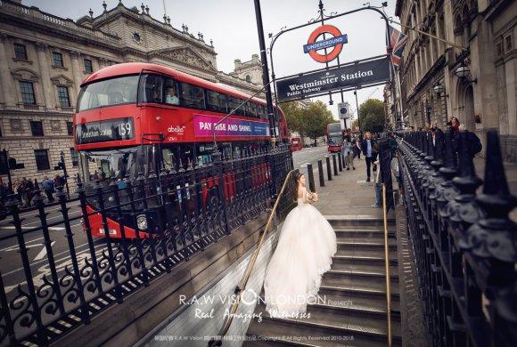 AJ&Sharon 伦敦婚纱照